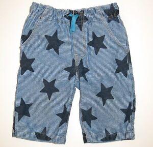 NEW Mini Boden boy spring pant techno shorts technos board camo navy blue