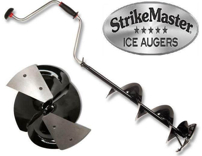 Strikemaster 5  Lazer mano barrena LD-5 Pesca de Hielo Lazer mano barrena 2pc