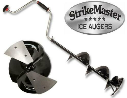 "Strikemaster 5/"" Lazer Hand Auger LD-5 Ice Fishing Lazer Hand Auger 2pc"