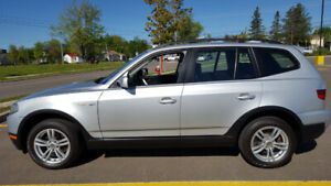 2008 BMW X3 all wheel drive. Immaculate overall condition