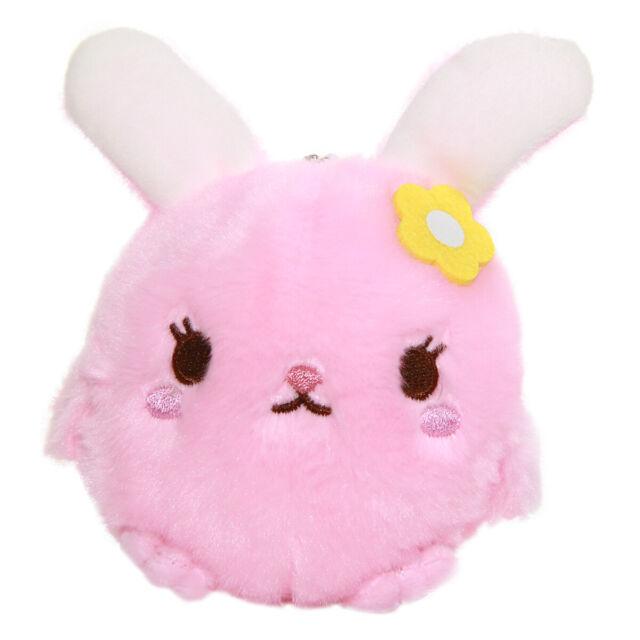 Pig Plush Doll Kawaii Stuffed Animal Soft Fuzzy Plushie Pink Japanese 4 Inches