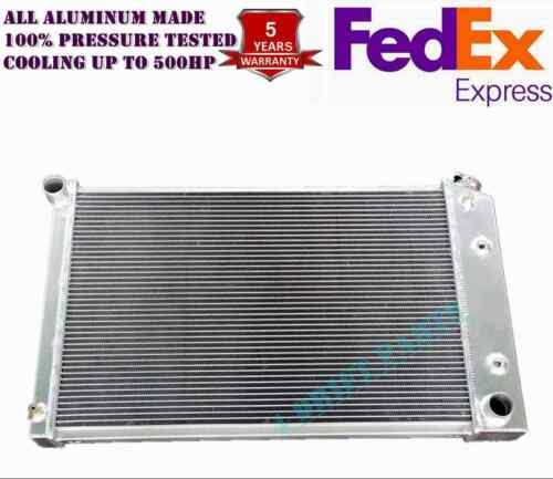 ALL ALUMINUM FIT 75 76-87 Chevy C20//K10 K20 Suburban 3 ROWS DIRECT FIT