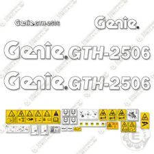 Genie Gth 2506 Decal Kit Telescopic Forklift 7 Year 3m Vinyl