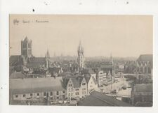 Gand Panorama Belgium Exposition Universelle 1913 Postcard 676a