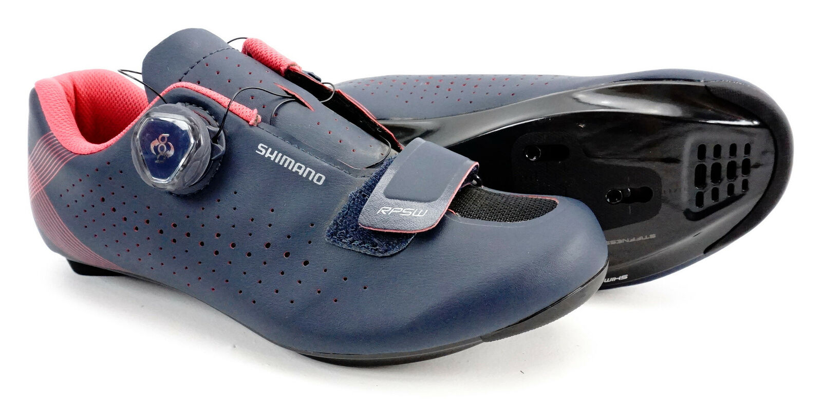 Black Shimano SH-WR84 Womens Road Cycling Shoes