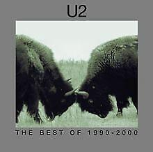 BEST-OF-1990-2000-von-U2-CD-Zustand-gut