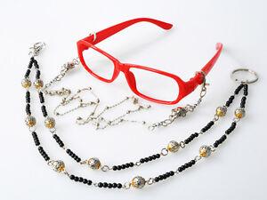 Cosfun Black Butler Grell Sutcliff Glasses Frame /& Chain Cosplay mp000589