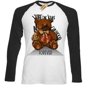 Childhood-Teddy-T-Shirt-toy-Mens-Baseball-t-shirt