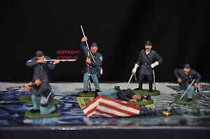 BRITAINS-17245-HOLD-AT-ALL-COSTS-AMERICAN-CIVIL-WAR-METAL-TOY-SOLDIER-FIGURE-SET