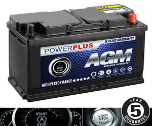 advanced start stop agm 110 bmw 1 series car battery 85ah ebay. Black Bedroom Furniture Sets. Home Design Ideas