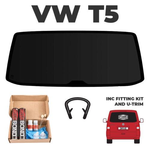 VW T5 Transporter Tailgate Window FITTING KIT T5 Tailgate Glass U TRIM