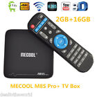 mecool M8s PRO + SMART TV Caja 2.4ghz Wi-Fi 4k x 2k 2gb+ 16gb Quad Core EU