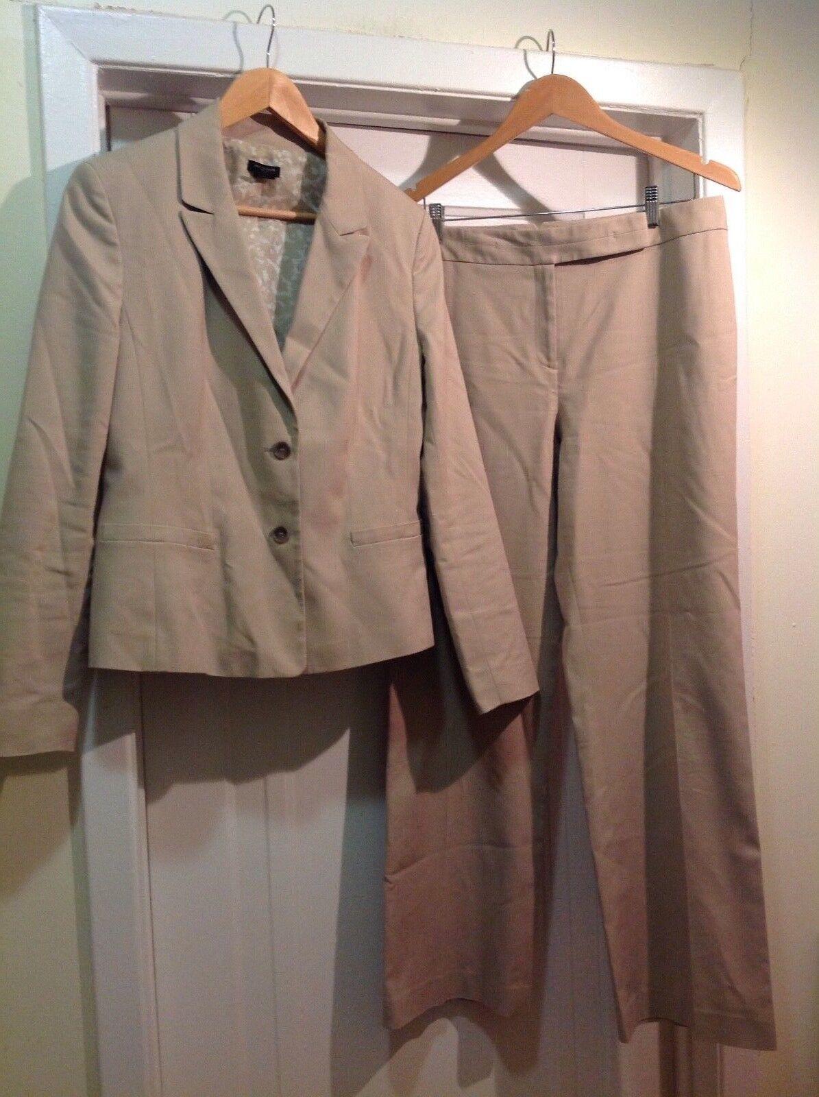 Ann Taylor Pant Suit Sz 12