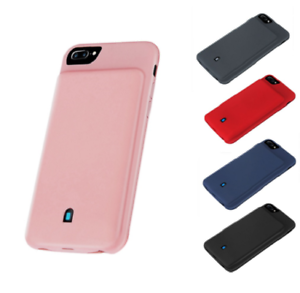 Details about Phone Case For iPhone 6 6s 7 8 Plus External Battery Charger Cover Power Bank