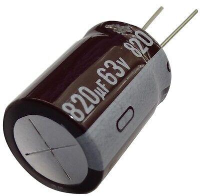 Aerzetix 5x Condensateur /électrolytique chimique 47/µF /± 20/% 400V THT 105/°C 10000h /Ø16x25mm radial