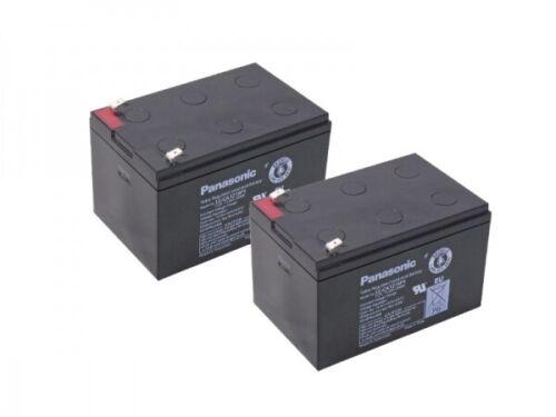 Kompatibler Accu Pedelec 660 24V 2x 12V 15Ah AGM Blei wie 12Ah 14Ah Akku