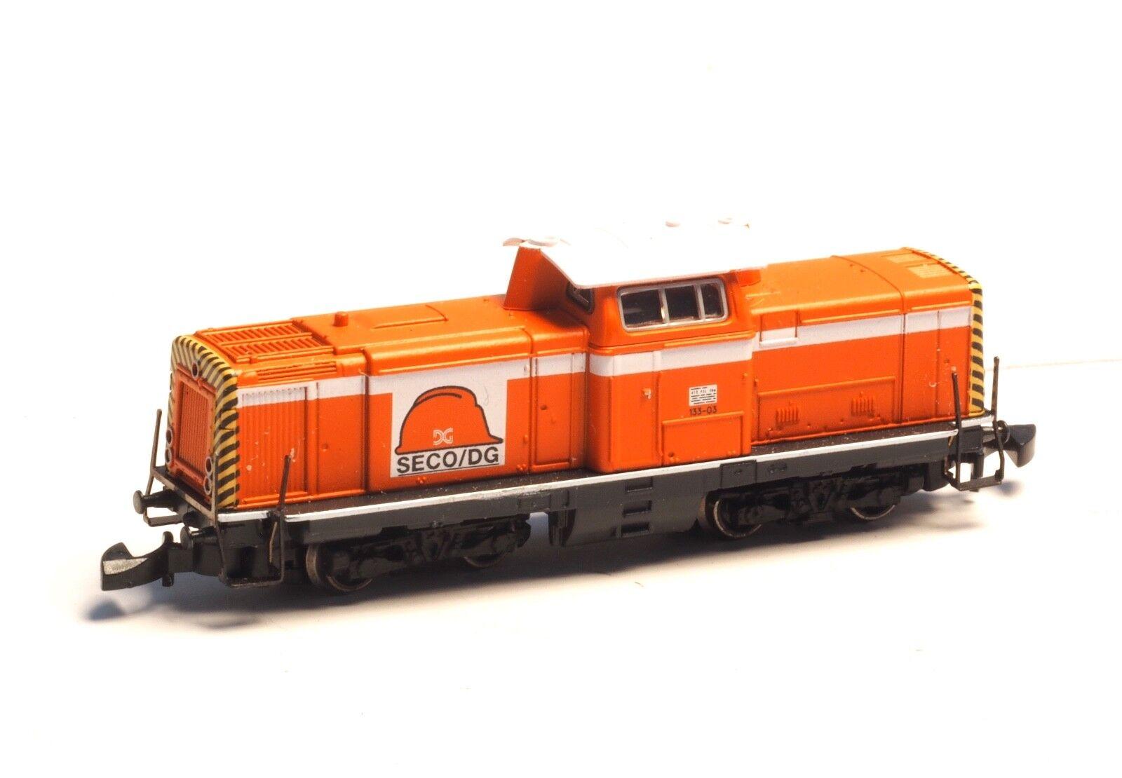 88694 Marklin Z Diesel Hydraulic Loco French class 133, English Channel SECO/DG