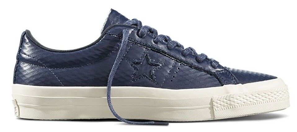 Converse MENS One Star Low Top Oxford SHOES SIZE MENS Converse 10 $90 153706C OBSIDIAN c25845
