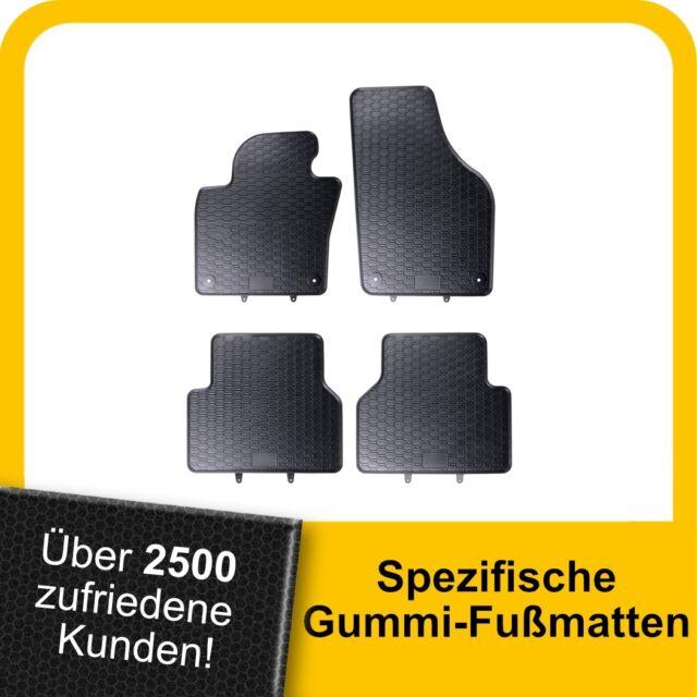 Gummi-Fußmatten CHRYSLER VOYAGER 5 V 4tlg 2006-2016 Gummimatten