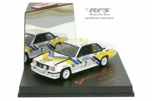 Opel Ascona 400 Lombard RAC Rallye 1980 Anders Kulläng 1:43 Vitesse Sunstar NEU