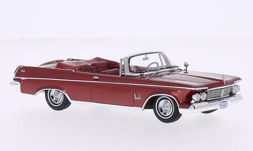 NEO 46845 - Imperial Crown cabriolet rouge métallisé - 1963  1/43 | Une Grande Variété De Marchandises