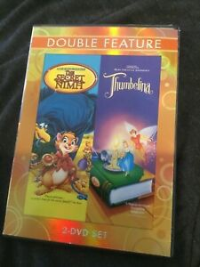 THE-SECRET-OF-NIMH-THUMBELINA-DOUBLE-FEATURE-2-DISC-ANIMATED-DVD-SET-FS-amp-WS