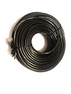20m ADSL RJ11 to RJ11 Modem Router Lead Broadband Extension Cable Male to Male