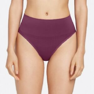 LADIES SHAPING THONG Yummie Tummie Jasmina Purple Size L/XL UK 12/14 NEW