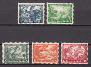 Deutsches Reich 5 Werte aus 499-507 ** postfrisch