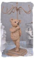 Vintage Schmuckhalter Teddybär Schmuckständer Kettenständer