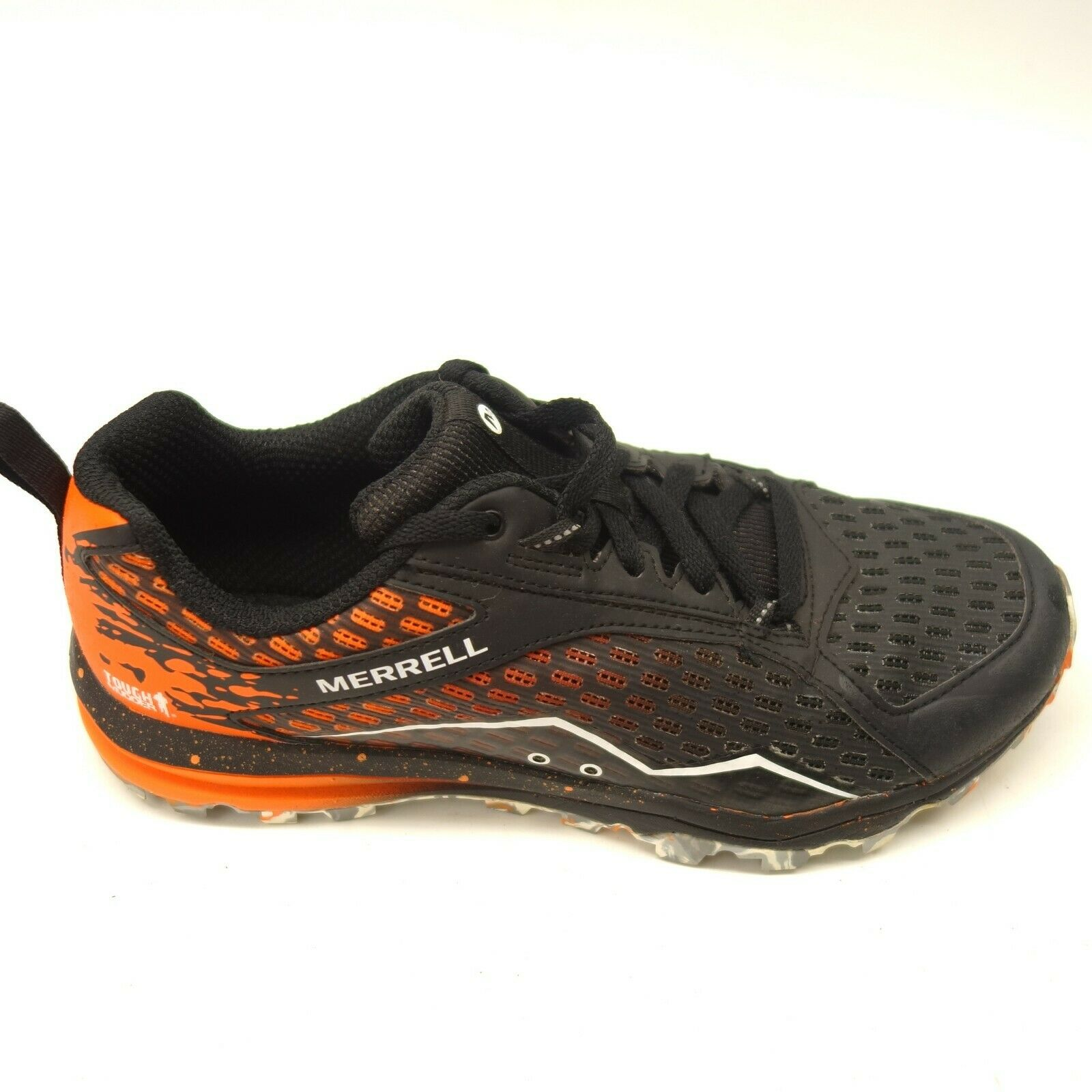 Merrell Sz 8 All Out Crush Tough Mudder 2 orange Black Athletic Womens shoes
