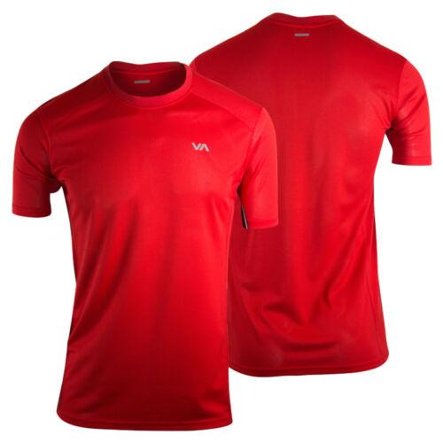 Red RVCA Mens VA Sport Outpost Training Shirt mma gym bjj