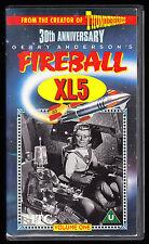 GERRY ANDERSON'S FIREBALL XL5 - VOL 1 - 1962 B&W TV SHOW - VHS PAL (UK) VIDEO