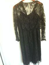 Morty Sussman for Mollie Parnis Vintage Dress Neiman Marcus Lace Dress ILGWU