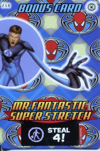 Spiderman Heroes And Villains Card #258 Mr Fantastic Super Strength