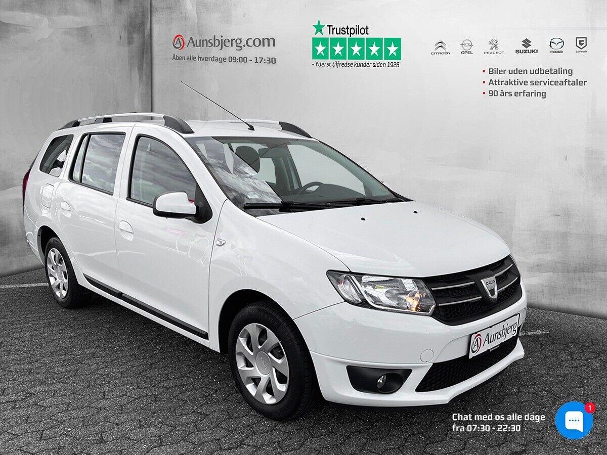 Dacia Logan 0,9 TCe 90 Laureate MCV 5d - 89.700 kr.