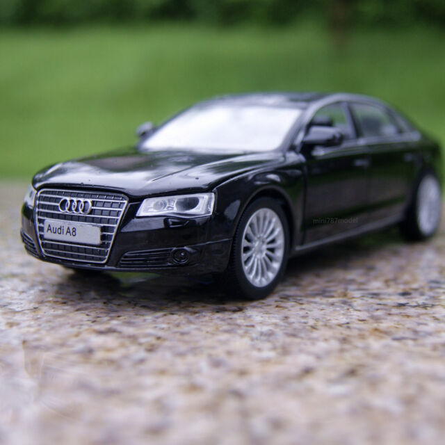 Audi A8l 1 32 Model Cars Sound Light Toys Collections Gifts Alloy Diecast Black