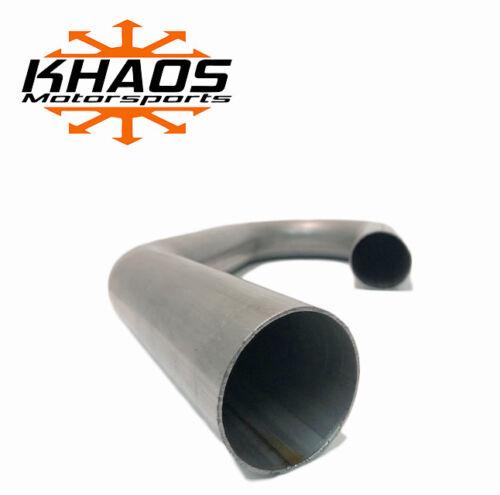 "2 1//4/"" 2.25/"" 180 and 45 Degree Combo 16ga Aluminized Mandrel Bend Exhaust Tubing"