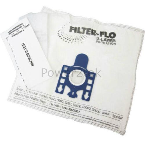 30 x Gn Hoover Sacchetti Per Miele Allervac Sensor 5000 SERIE tt5000 automatica