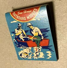 Vintage 1950?s NOS Johnson Sea-horse Outboard Motors Match Book Matches Ad
