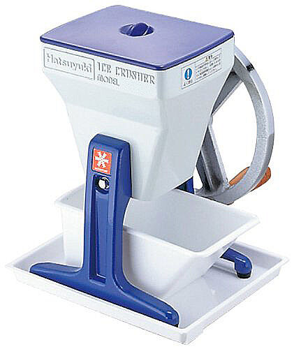 New Hatsuyuki Manual Drive Ice Crusher Kachiwari-gori shaver maker Japan
