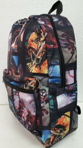Marvel Venom Spider-Man Villain Laptop Backpack School Book Bag