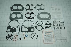 """1955 68 CARB KIT OLDS PONTIAC 2 BARREL ROCHESTER  283/"""" TO  421/"""" ENGINES NEW!"""