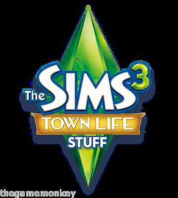 THE SIMS 3 TOWN LIFE STUFF [PC/Mac] Origin key
