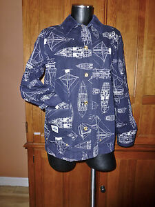 Frakke Cotton Sailor Lauren Denim Blue Supply Marine Jacket Nautical Navy Ralph nvwYBTqB