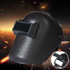 Arc Welding Helmet Mask Welder Flip Up Face Shield Hood Mig Tig Mma Black