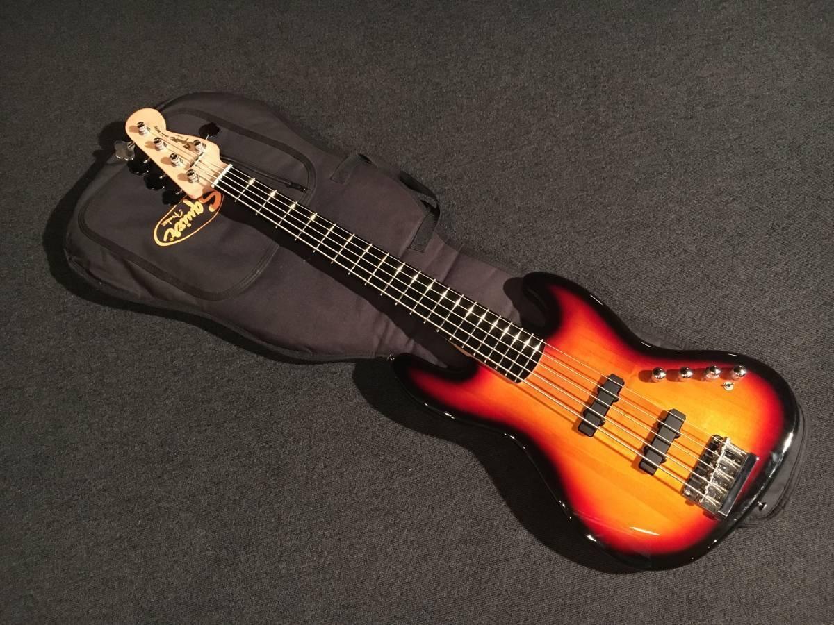 Squier Deluxe Jazz Jazz Jazz Bass 5 Cuerdas No.030718 rara útil Active EMS F S   presentando toda la última moda de la calle