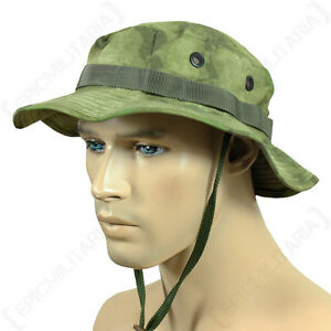 MIL-TACS-FG-CAMO-BOONIE-HAT-Bush-Floppy-Sun-Cap-Military-Rip-Stop-Lightweight