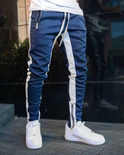 Pants Pantalones Largos Deportivos Para Hombre Ropa De Gimnasio Chandal De Moda Casual Clothing Shoes Accessories Vishawatch Com