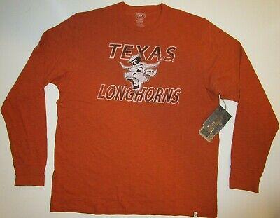 Burnt Orange X-Large University of Texas Authentic Apparel NCAA Texas Longhorns Mens Texas Arch Tee